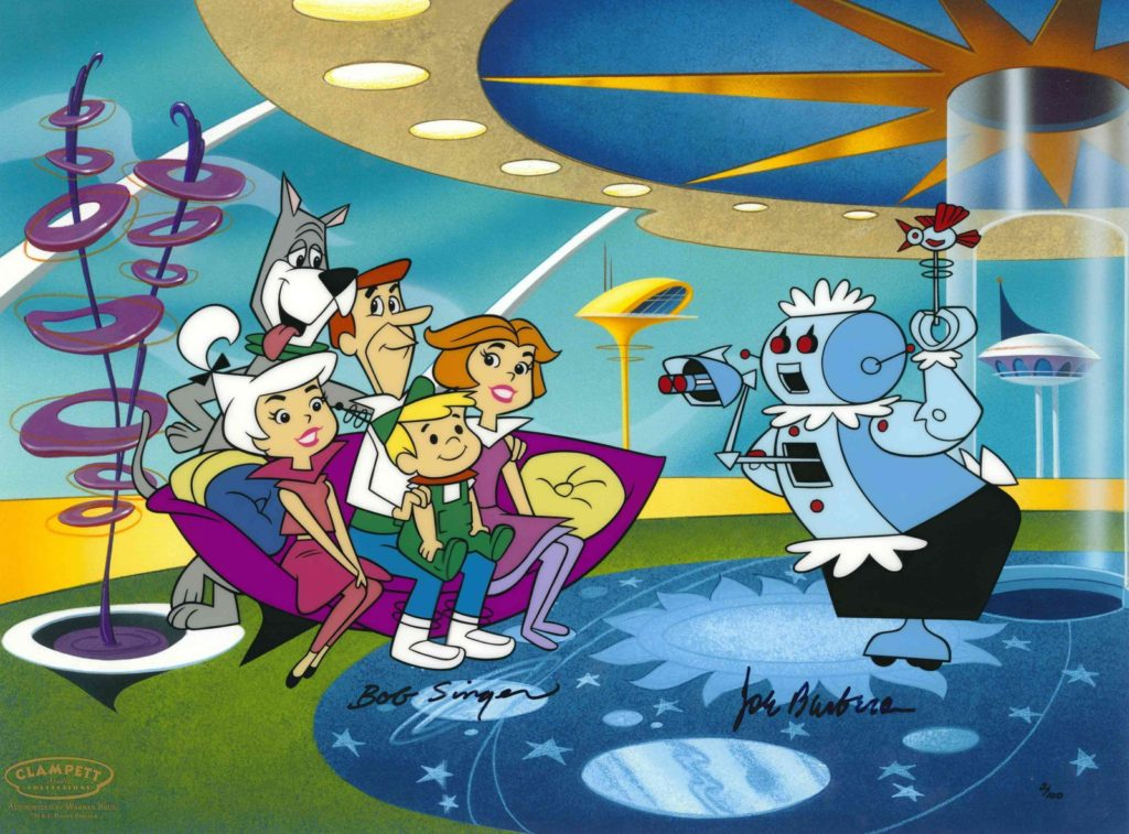 a picture from the old tv show the jetsons